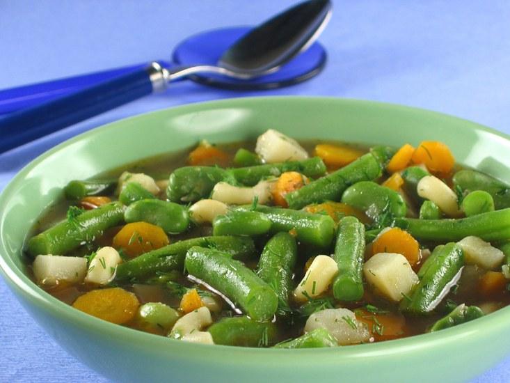 Супы из зеленой стручковой фасоли рецепты