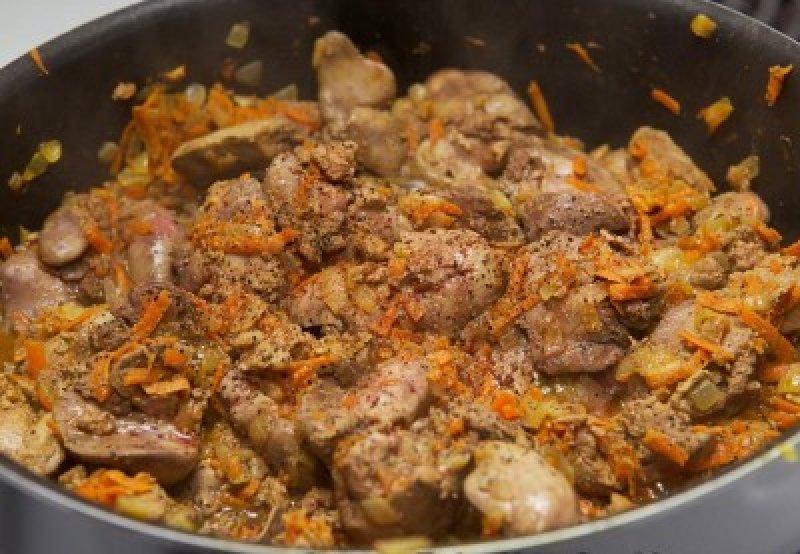 Куриная печенка рецепты приготовления с фото